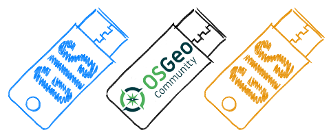 Portable GIS OSGeo Community Logo
